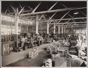 [Southern Pacific Railroad Sacramento Shops complex: interior view of Brass Foundry]