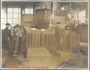 [Southern Pacific Railroad Sacramento Shops complex: interior of Steel Foundry]