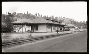 [Southern Pacific Railroad passenger station at Colfax]