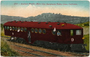 [Southern Pacific Railroad motor car]