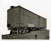 [Pacific Fruit Express Company ventilated refrigerator car 12]