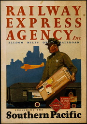 [Railway Express Agency poster]