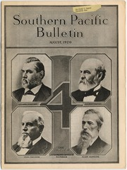 [Southern Pacific Bulletin - August 1920]