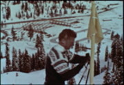 Winter Olympic playground 1960