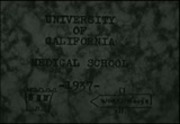 University of California Medical School. Class of 1938 - reel 1