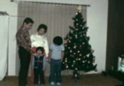 Gee Family, Christmas, Piano, 1979