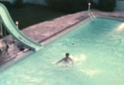 Gee Family, Swimming, 1979