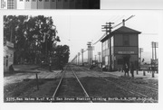 San Bruno Train Station, June 15, 1916