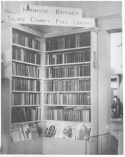 Ivanhoe Branch, Tulare County Library, 1929