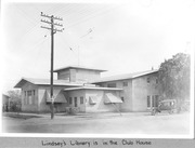 Lindsay, Calif., Library, 1920s, in Women's Clubhouse