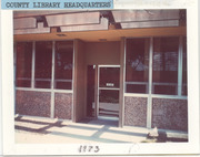 1957-1976 Headquarters, Tulare County, Calif., Library System
