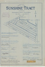 Plat of Sunshine Tract