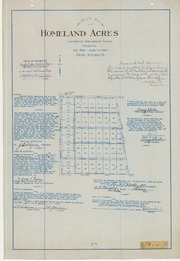 Plat of Homeland Acres