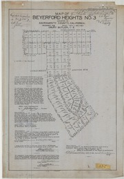 Map of Beyerford Heights No. 3
