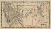 Map of the Central Pacific Railroad of California