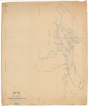Map of Land Prospected by Folsom Development Company