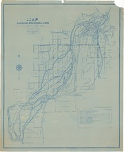 Map Showing Dredging Lands Adjacent to Feather River, Part 2 of 2