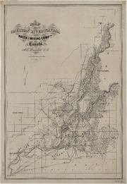 Map of the American River and Natoma Water and Mining Company's Canals