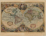 Nova Totius Terrarum Orbis Geographica Ac Hydrographica Tabula (Map of the New World)