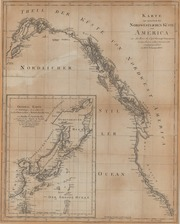Karte von einem Theil der Nordwestlichen Kuste von America (Map of part of the Northwest coast of America)