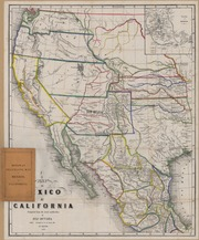 Map of Mexico and California