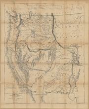 Map of Oregon and Upper California