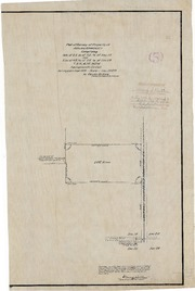Plat of Survey of Property of Adeline A. Hardesty
