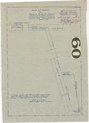 Plat of Survey for Starbuck, Melby, and Hoover