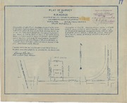 Plat of Survey for R.R. Hodge
