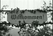 German Day festivities in Hindenburg Park, Los Angeles film footage