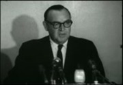 Edmund G. Brown press conference film footage