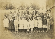 Homestead School students and teacher