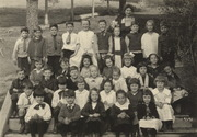 Summit School second and third grades, February 1919