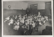 Summit school classroom of seated students