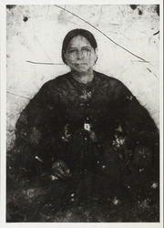 Hilaria Sanchez Reed Garcia, print from glass negative