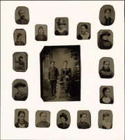 Collection of tintype photographs of unidentified Reed family members