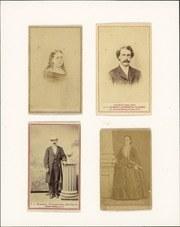 Carte de visite portraits of unidentified Reed family members