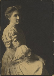 Portrait of Lorena Bell Dorsey as a young woman, sitting