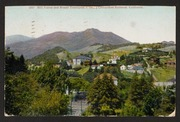 View of Mill Valley and Mount Tamalpais, California