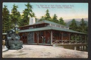 Muir Inn at Muir Woods, National Park, Mt. Tamalpais, Marin County, California