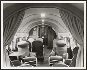 Interior of Moseley's DC-3