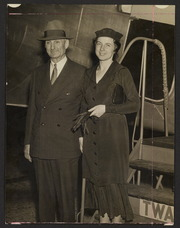 Senator William Gibbs McAdoo and his wife