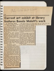 Art Section 1948-1949: Newspaper Clippings, Trips, Classes and Events