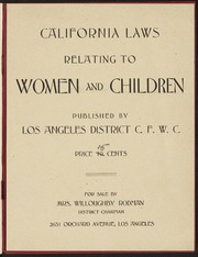 Program: 5th Convention of the California Federation of Women's Clubs