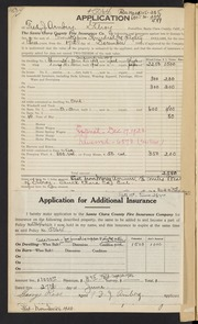 Santa Clara County Fire Insurance Co. Ledger - 1920/1921