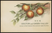 See Graton and Green Valley: Center of the Famous Gravenstein Apple Section