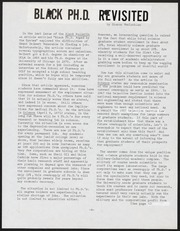 Black Bulletin Layouts, 1968- , Folder 2