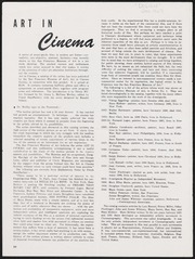 General correspondence, 1947-48: Art in Cinema collection