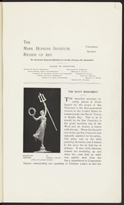 Mark Hopkins Institute Review of Art, 1903-12
