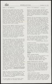 SF Art Association Newsletter - 1955-11-21